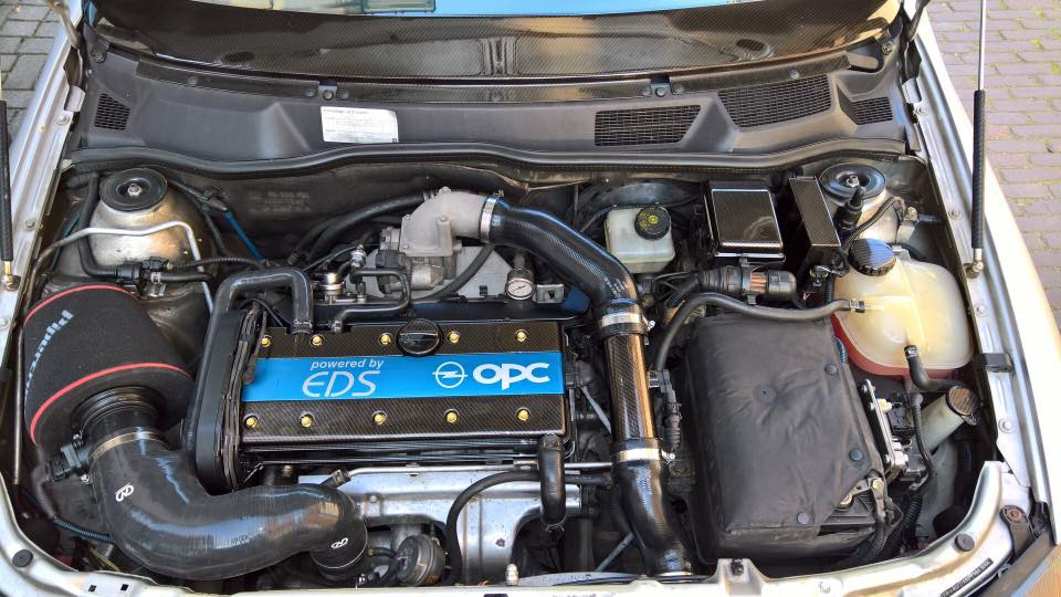 Opel Astra OPC Carbon engine parts www.fsb-dip.nl hydrodipping