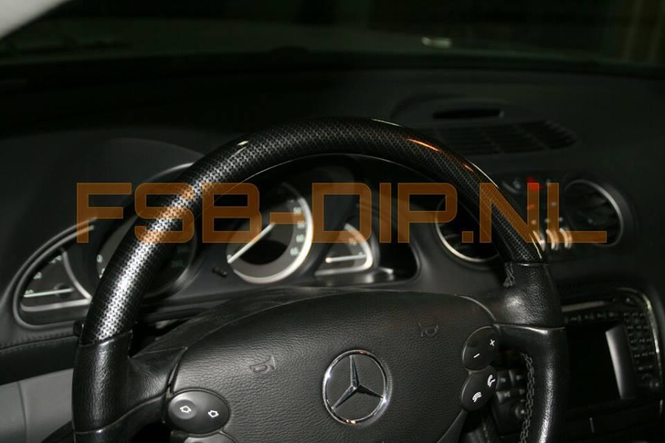 Mercedes SL500 carbon Hydrodipping fsb-dip.nl
