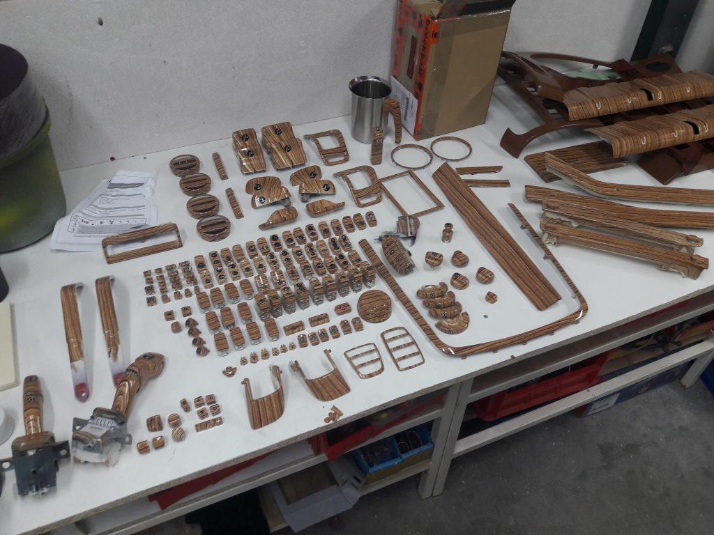 scania v8 hydrodipping wood