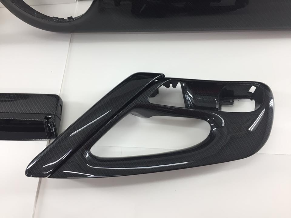 volkswagen polo interieur carbon hydrodipping fsb-dip.nl
