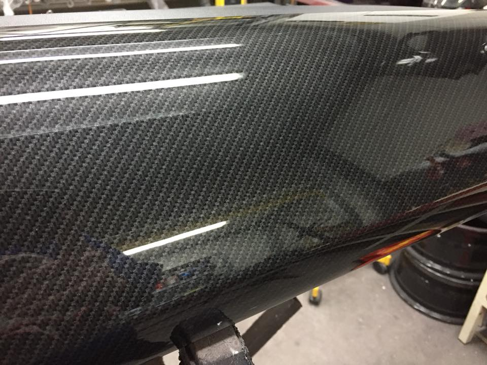 volkswagen UP! dashboard carbon hydrodipping fsb-dip.nl