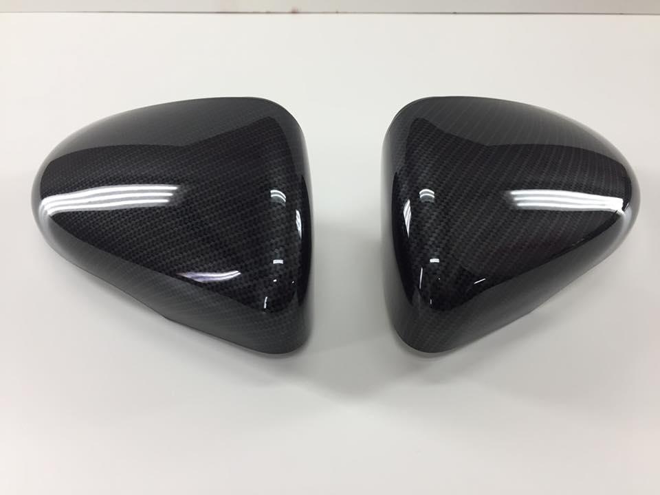Golf 6 GTI carbon spiegels accukap hydrodip www.fsb-dip.nl
