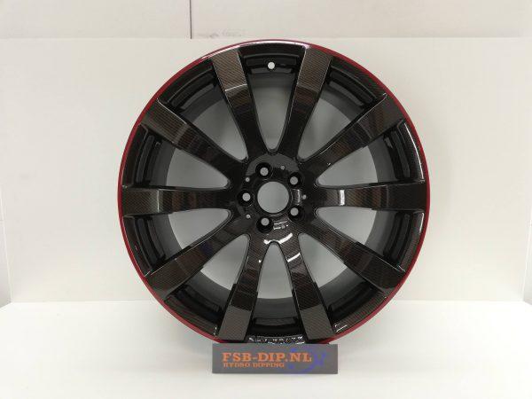 "19""inch mak velgen carbon hydrodip www.fsb-dip.nl"