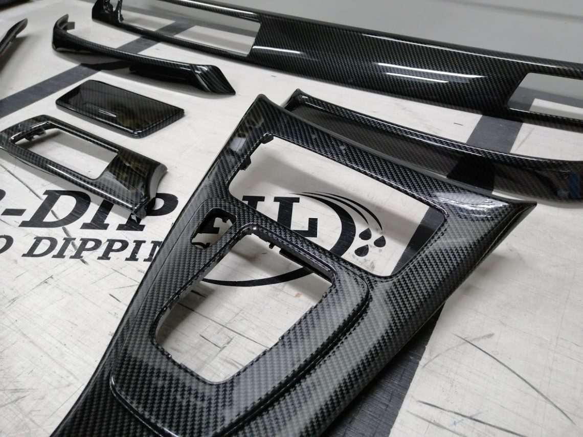 bmw e90 interieur carbon look hydrodip