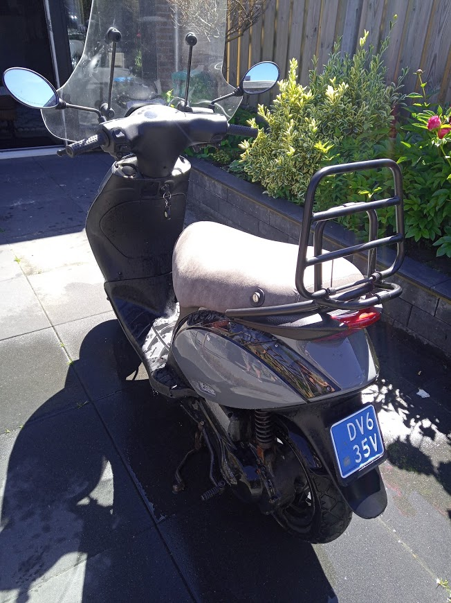 piaggio zip snor scooter 70cc nardo grey fsb-dip.nl