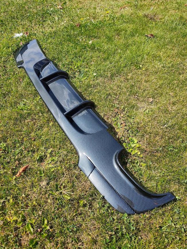 bmw e90 achterbumper diffuser carbon hydrodip fsb-dip.nl