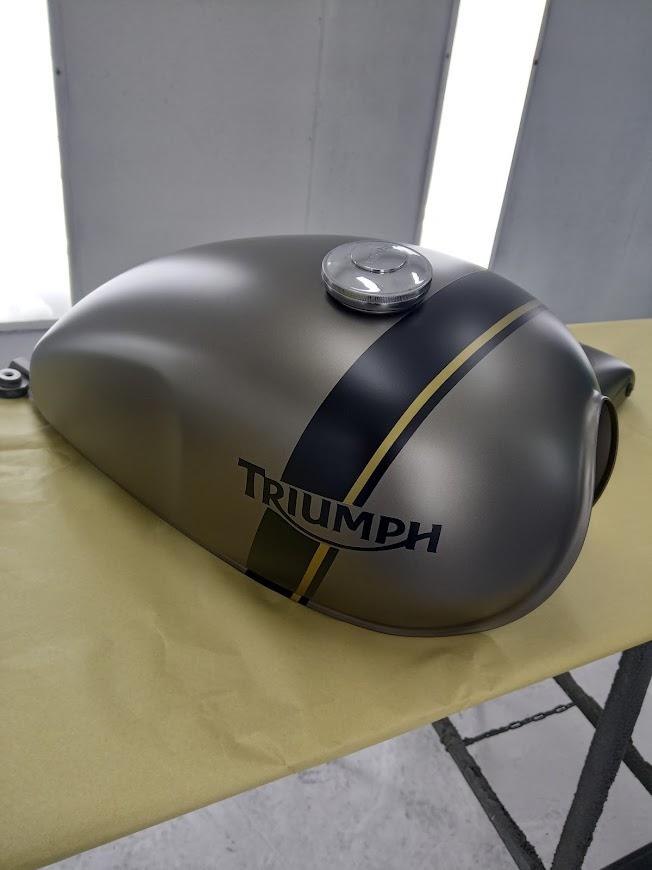 Triumph custom paint fsb-dip.nl ultra mat