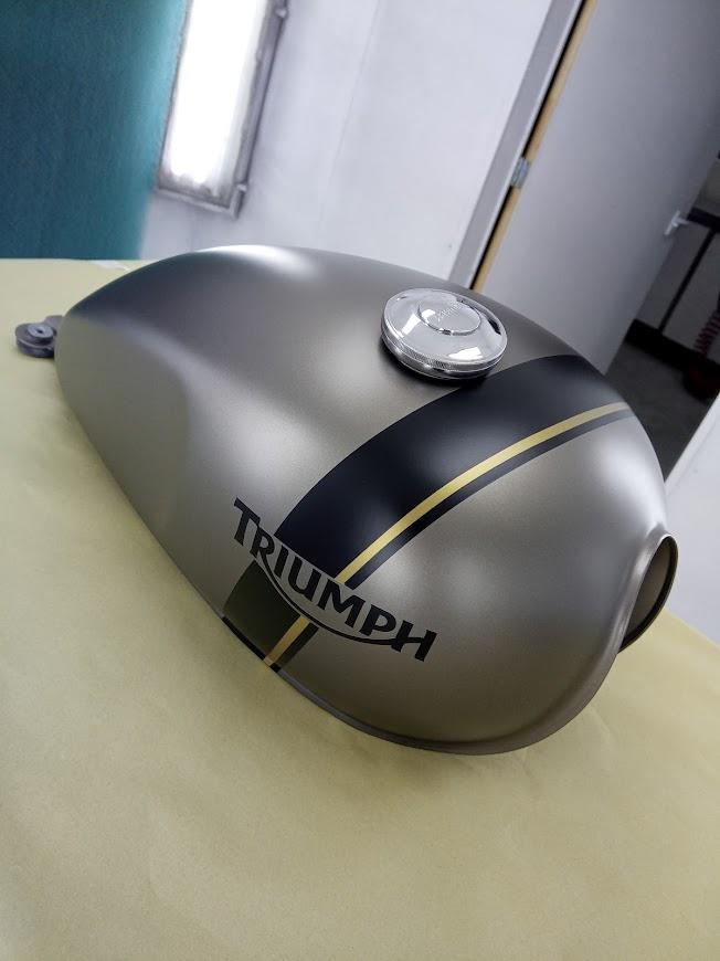 Triumph Custom Paint Ultra Mat